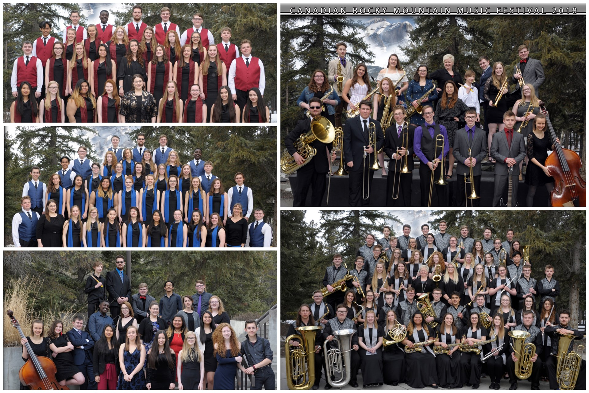 SCCHS Music Department performs at music festival in Banff