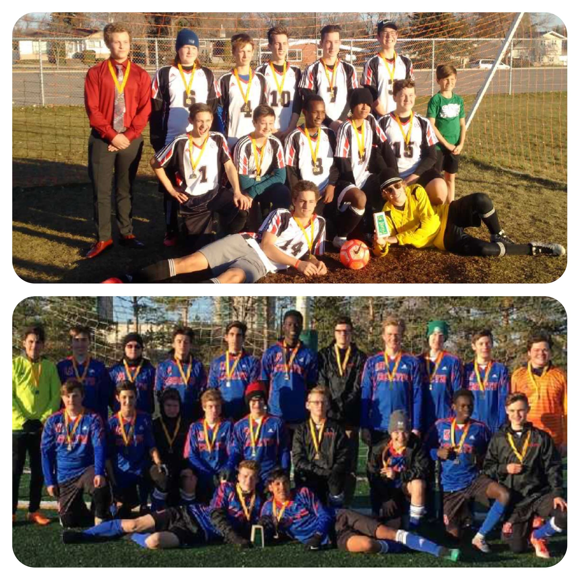 Three Soccer Teams off to Provincials
