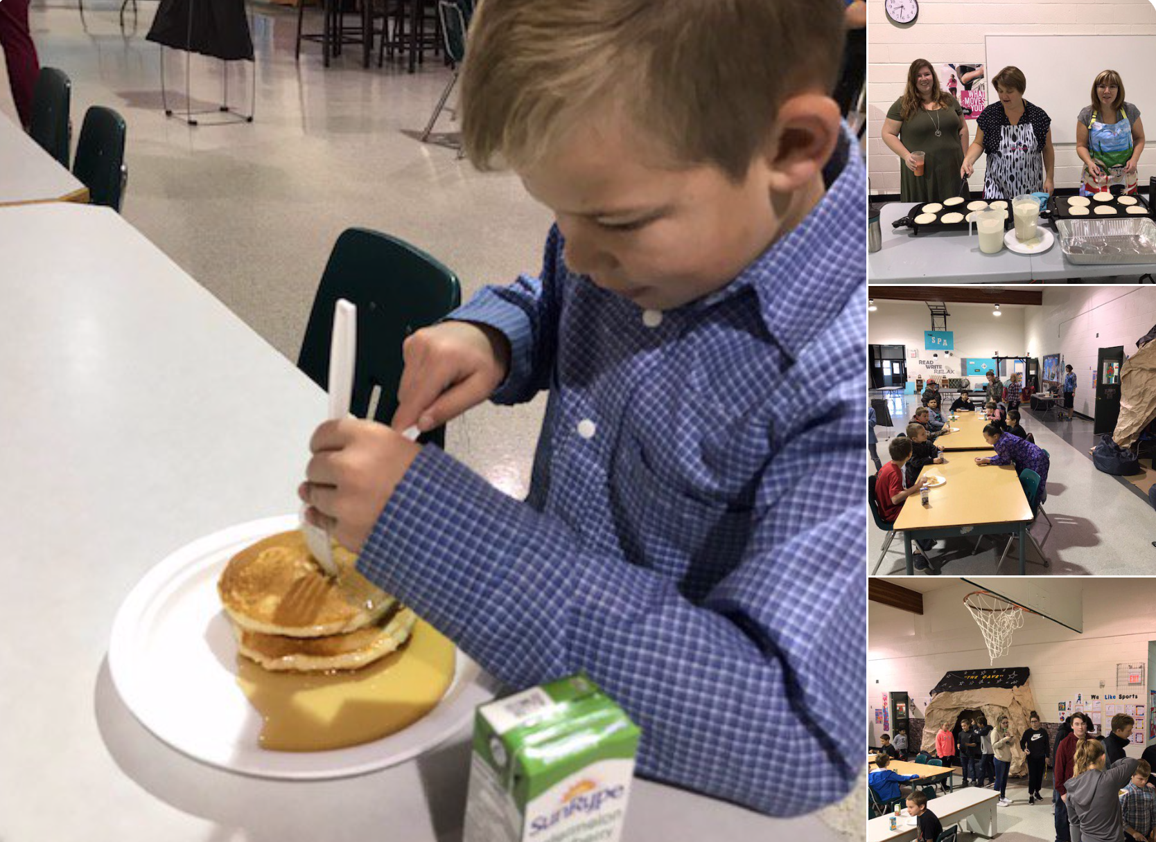 Ponteix School celebrated Education Week with a pancake breakfast!
