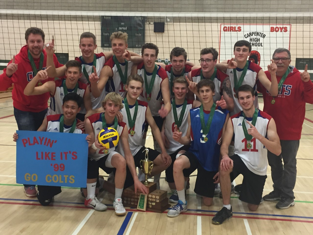 SCCHS Colts Win Gold