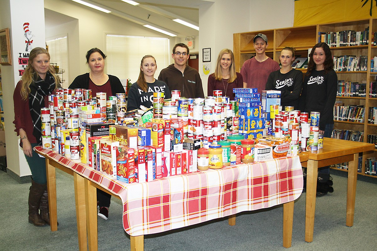 Herbert School WE Scare Hunger Campaign