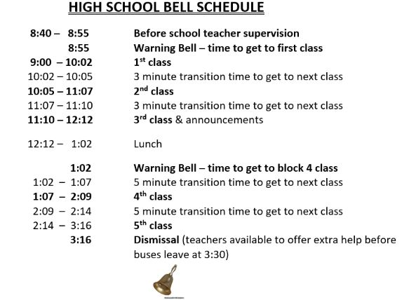 New Bell Schedule Grades 6 to 12.png
