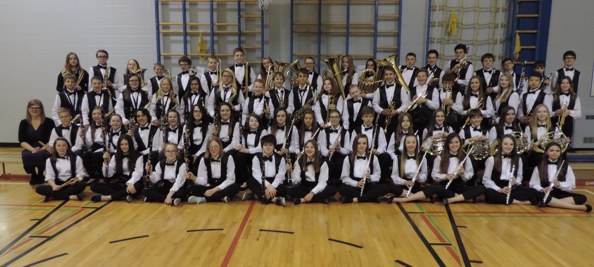Congratulations To The Grade 7 and 8 Band!