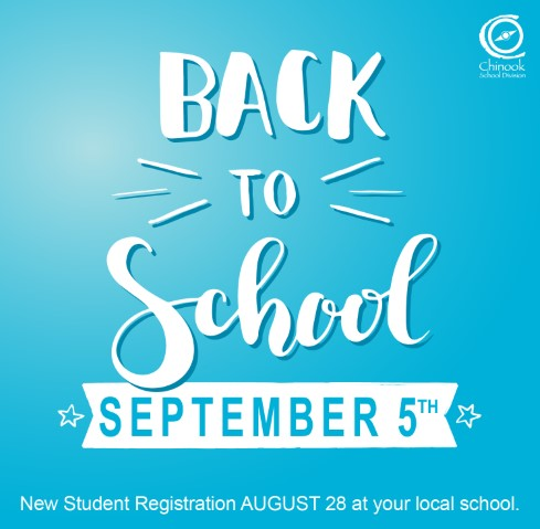 Back to School Sept 5th