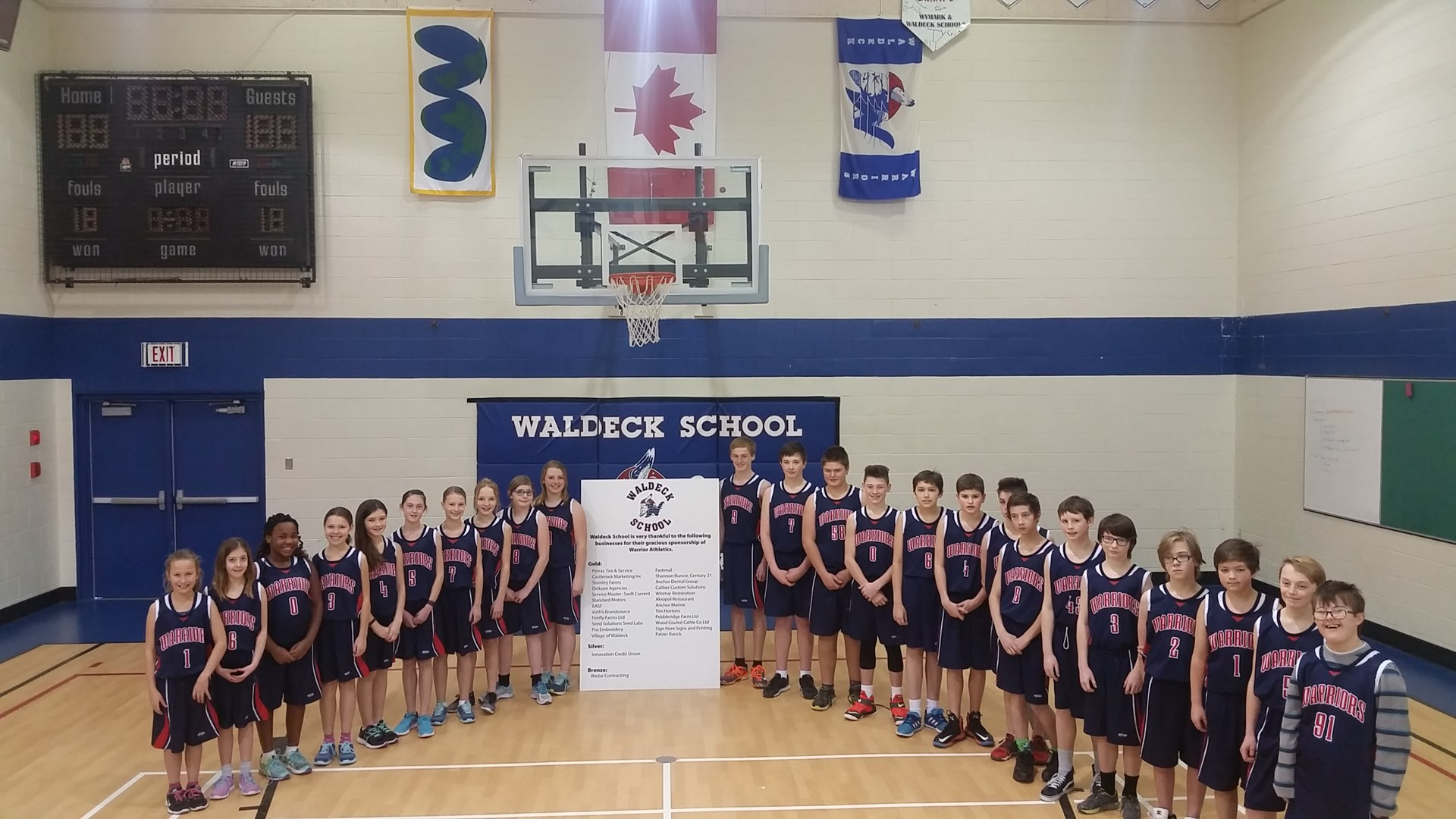 Warrior Basketball Teams
