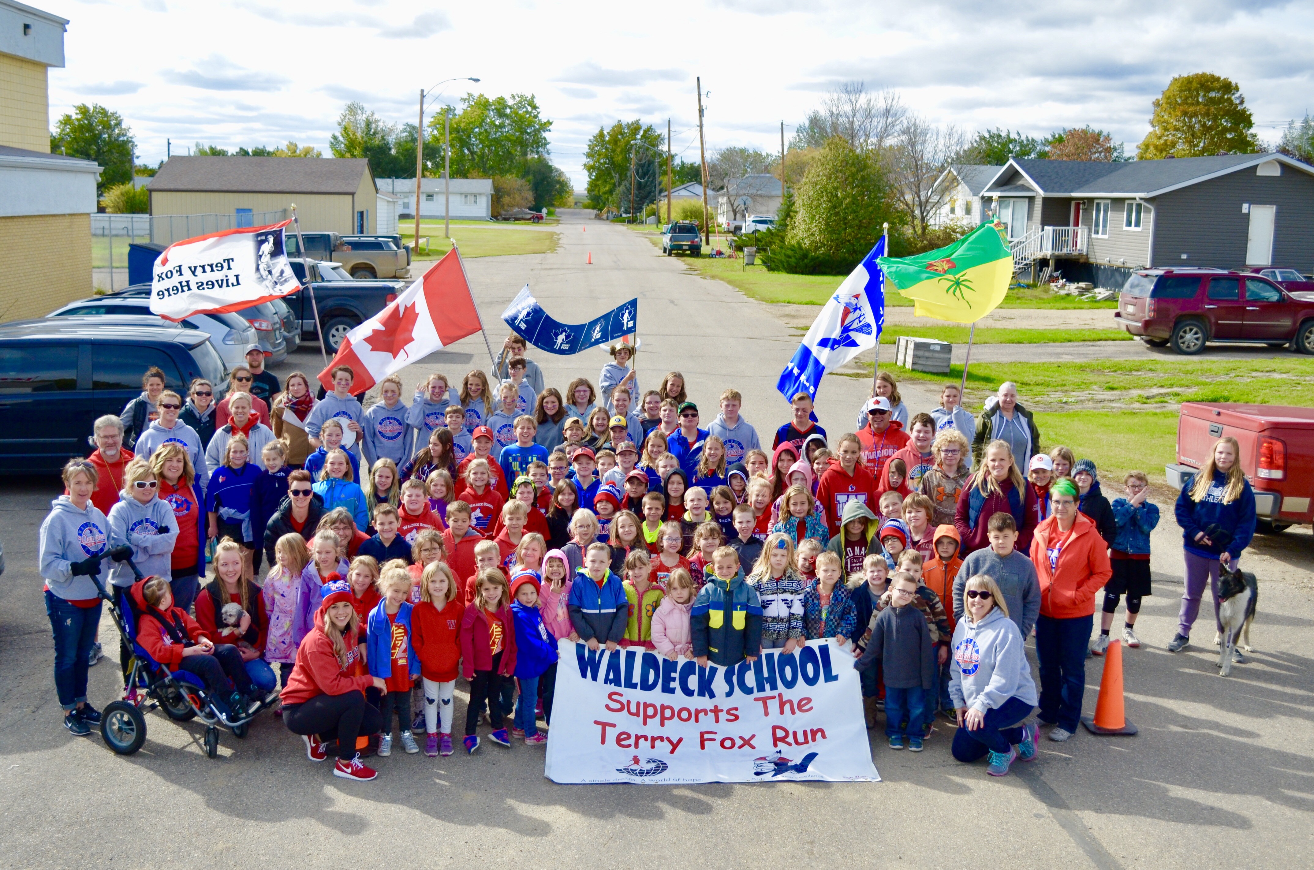 Warriors Proudly Support the Terry Fox Run 2018
