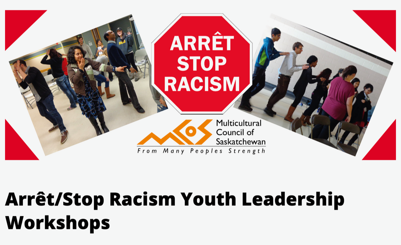 Stop Racism Youth Leadership Workshops MCoS
