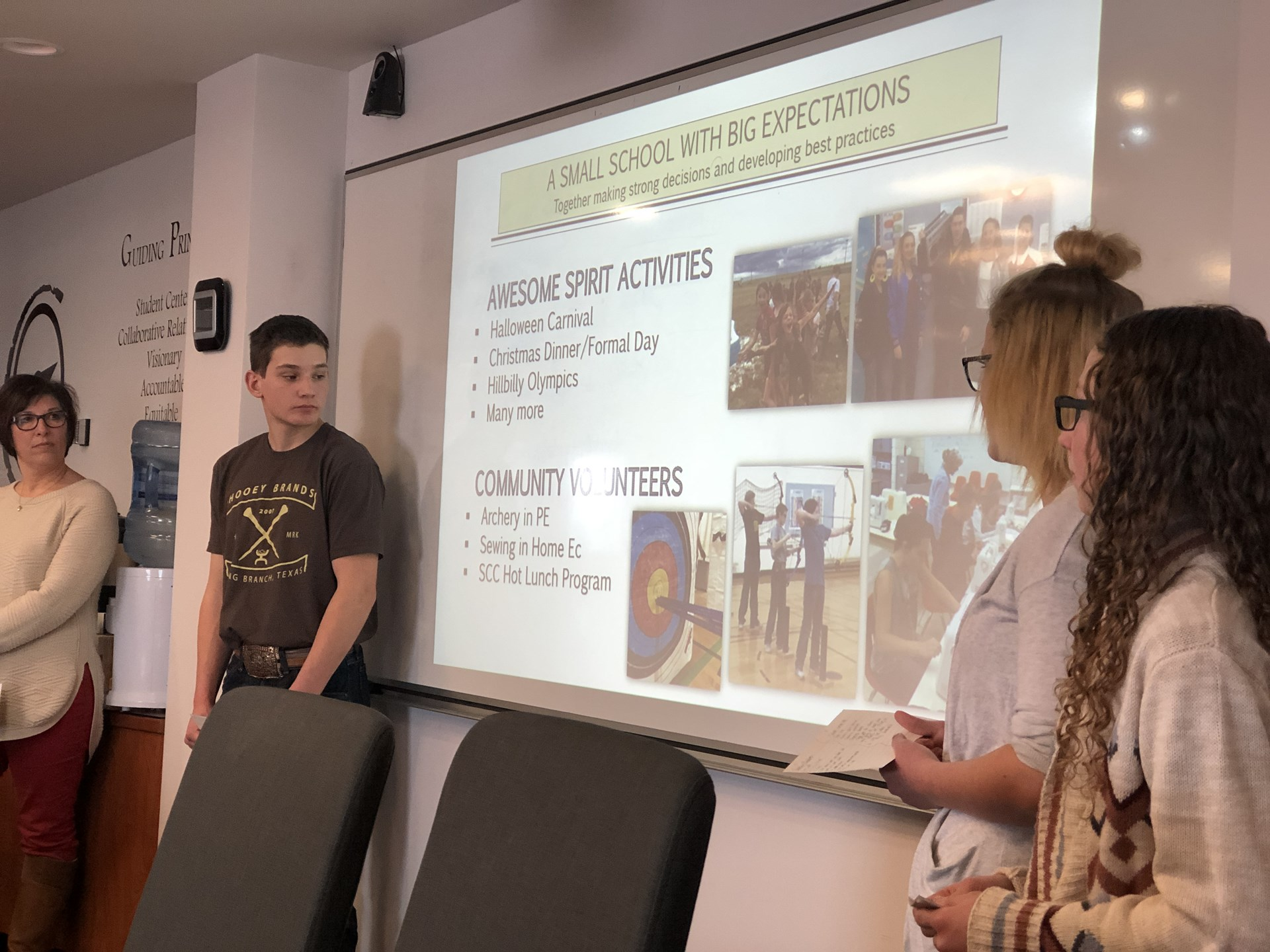 "Consul School Presentation: ""Strong Alone, Unstoppable Together!"""