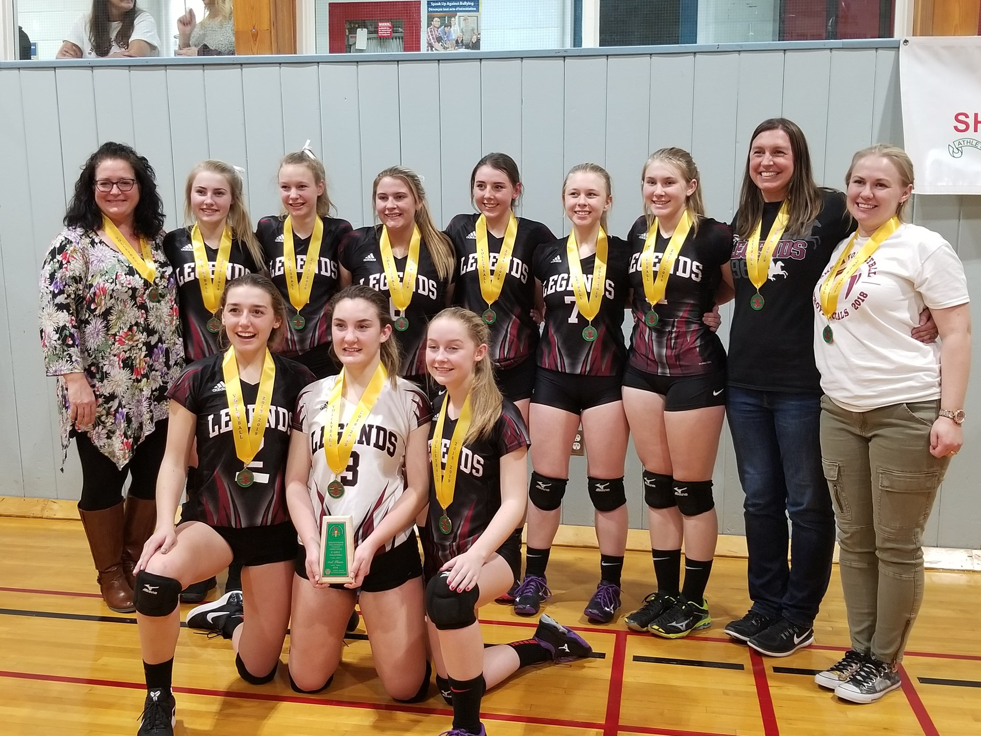 Sr. Girls 1A Provincial Volleyball BRONZE MEDAL!!!!
