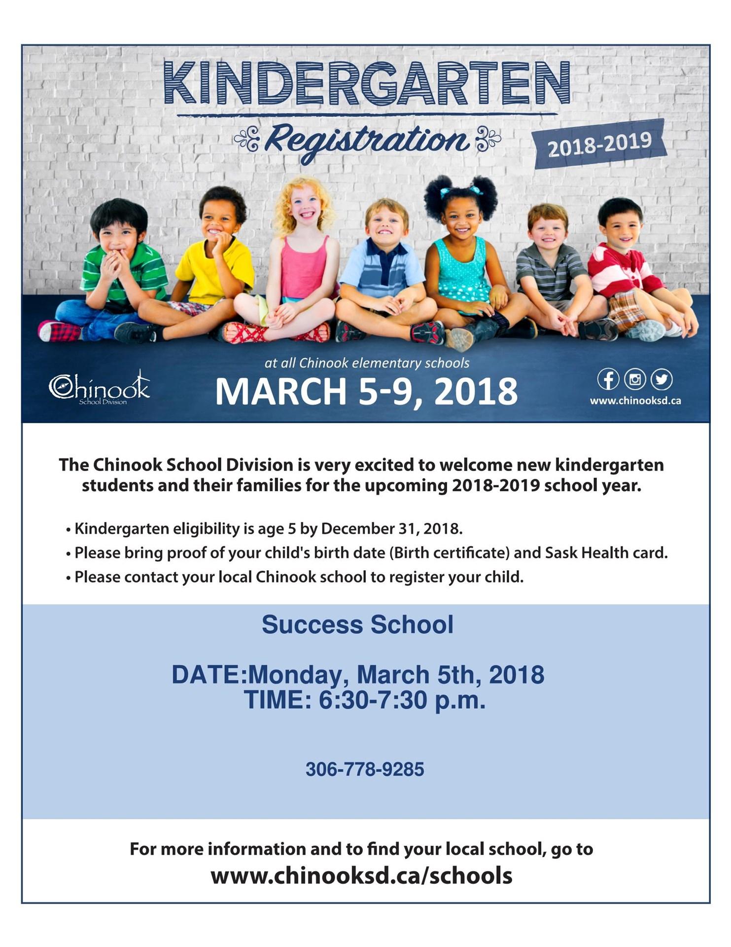 Success school success school 2018 2019 kindergarten registration aiddatafo Image collections